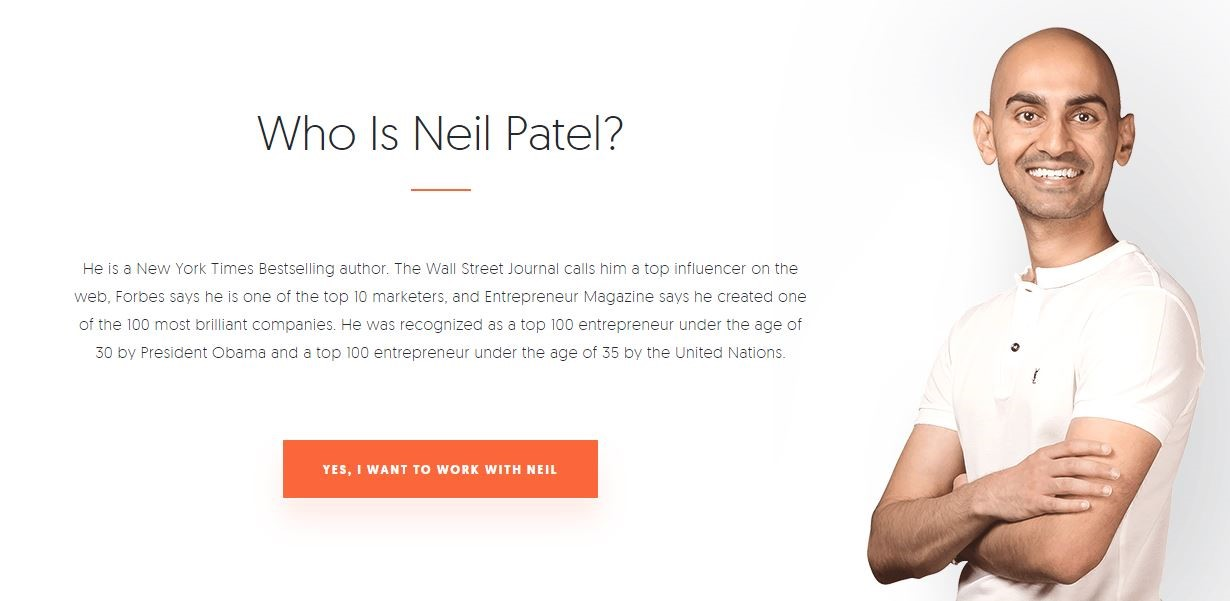 Neil Patel: New York Times' Bestselling author