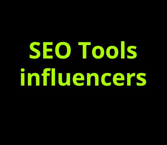 SEO Tools influencers