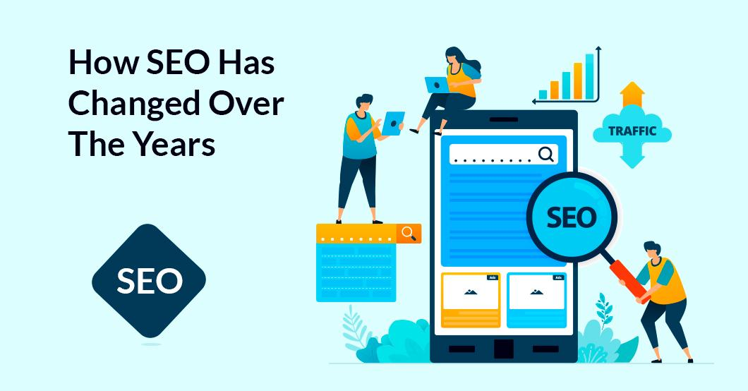 SEO has evolved over the years