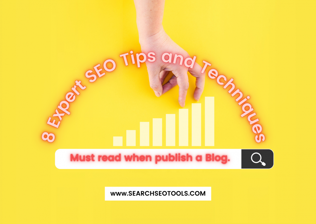 EXPERT SEO TIPS AND TECHNIQUES