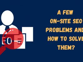 on-site seo problems