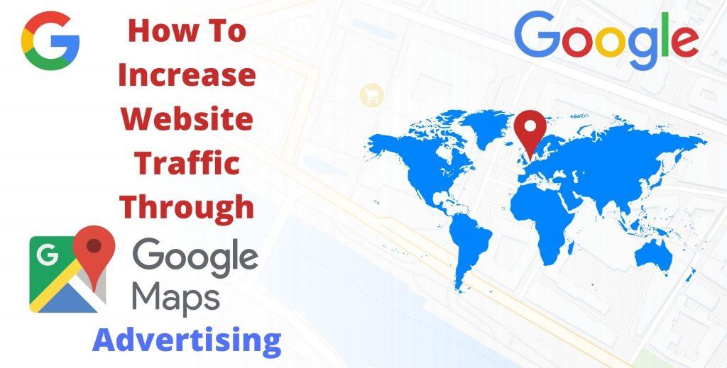 website traffic through Google maps