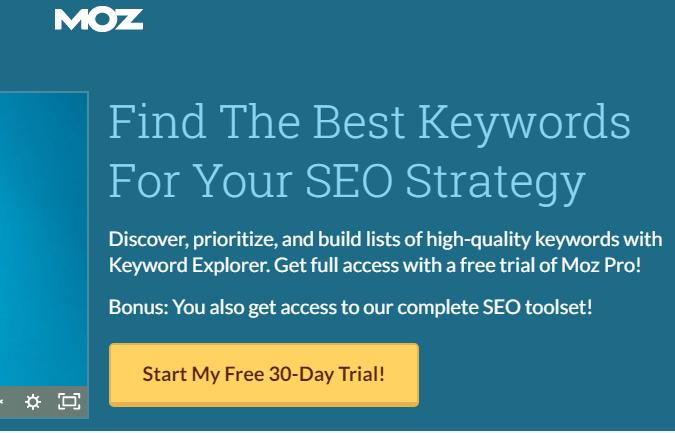 best seo tools - Keyword Explorer