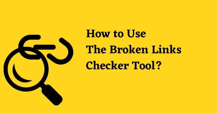 Broken links Checker