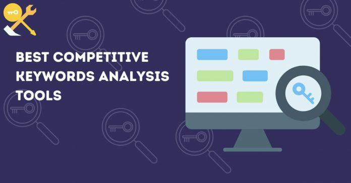 Competitor's Keywords Analysis Tools