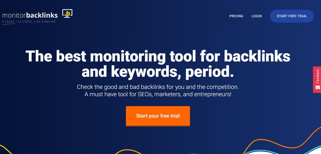 monitor backlinks - Backlink Monitor Tools